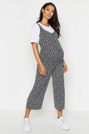 Boohoo Womens Maternity Ditsy Floral Culotte Jumpsuit - - 6
