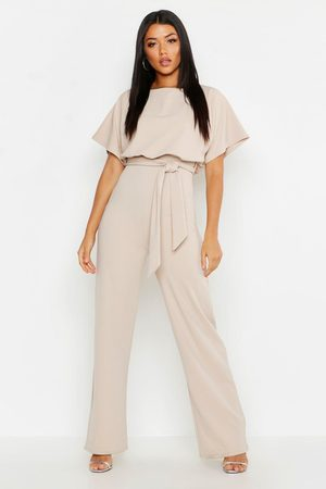 Boohoo Womens Double Layer Jumpsuit - - 4