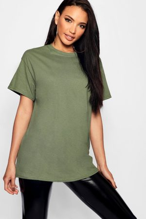 Boohoo Womens Basic Oversized Boyfriend T-Shirt - - S
