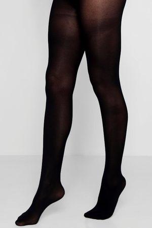 Boohoo Womens Soft Touch Luxury 40 Denier Tights - - S/M