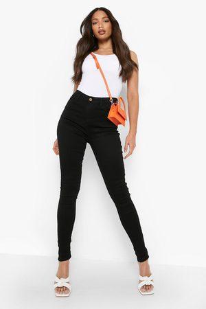 Boohoo Womens Tall 5 Pocket Stretch Skinny Jeans - - 4