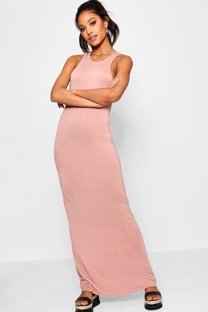 Boohoo Womens Basic Racer Front Maxi Dress - - 2