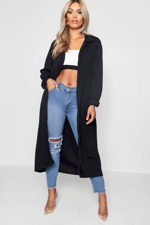 Boohoo Womens Plus Crepe Longline Duster - - 12