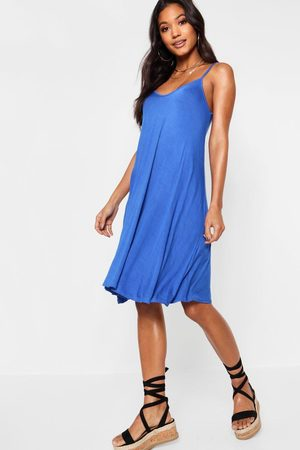 Boohoo Womens Basic Swing Dress - - 2