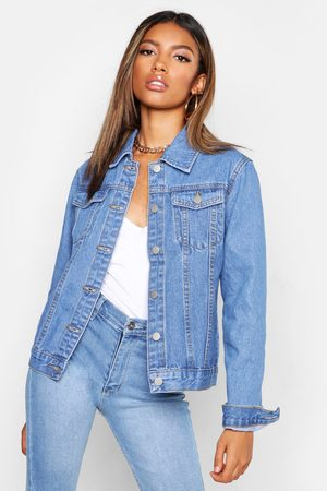 Boohoo Womens Fitted jean jacket - - 2