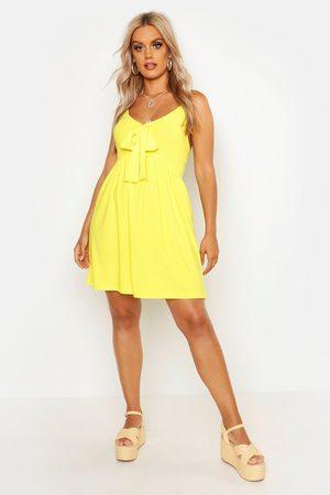 Boohoo Womens Plus Tie Front Sundress - - 20