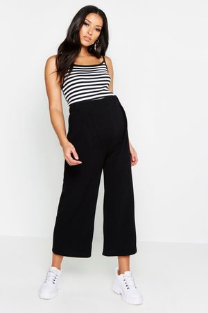Boohoo Womens Maternity Over The Bump Culottes - - 4