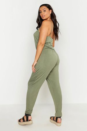 Boohoo Womens Plus Basic Cami Jumpsuit - - 24