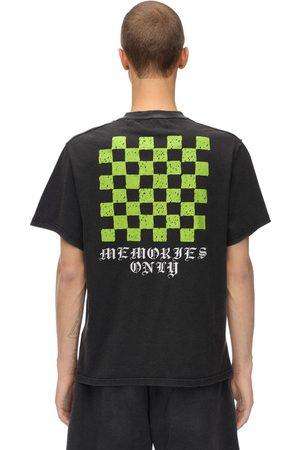 ASKYURSELF Memories Checker Cotton Jersey T-shirt