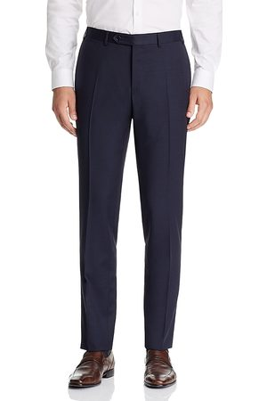 CANALI Capri Textured Slim Fit Dress Pants