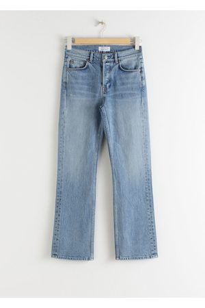 & OTHER STORIES Classic Kick Flare Mid Rise Jeans
