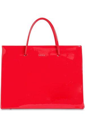 Medea Hanna Vinyl Top Handle Bag