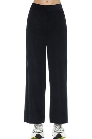 Max Mara Cropped Cotton Corduroy Pants
