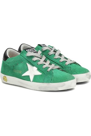 Golden Goose Girls Sneakers - Superstar suede sneakers