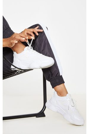 PRETTYLITTLETHING Bubble Sole Lace Up Sneakers