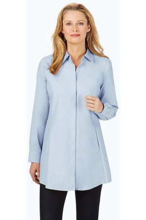 Foxcroft Collection Cici Non-Iron Pinpoint Tunic