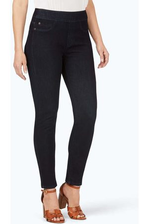 Foxcroft Collection The Uptown Slim Leg Pull-On Stretch Jeans