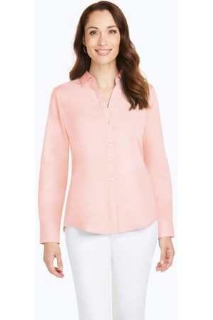 Foxcroft Collection Chrissy Non-Iron Pinpoint Shirts On Sale