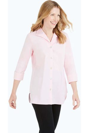Foxcroft Collection Pandora Non-Iron Pinpoint Tunic