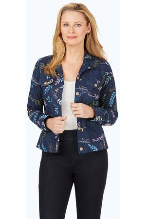 Foxcroft Collection The Getaway Embroidered Jacket