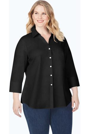 Foxcroft Collection Mary Plus Stretch Non-Iron Shirt