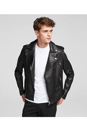 Karl Lagerfeld Men Blazers - K/Ikonik Biker Jacket