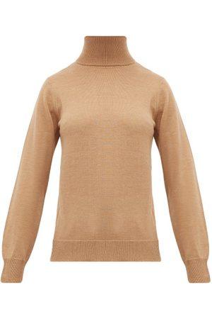 A.P.C. Women Turtlenecks - Sandra Wool Roll-neck Sweater - Womens
