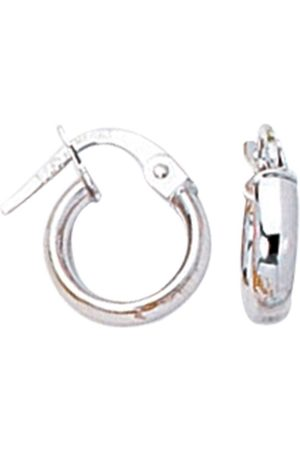 SuperJeweler 14K (0.80 g) Kids Hoop Earrings by