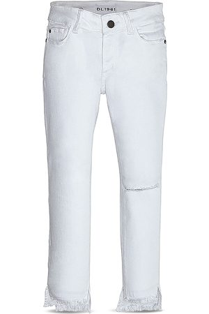 Dl 1961 Girls' Chloe Distressed Ankle Jeans - Little Kid