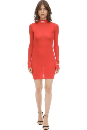 Heron Preston Light Jersey Mini Dress