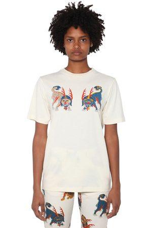 KIRIN Front Printed Cotton Jersey T-shirt