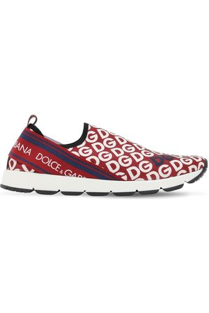 Dolce & Gabbana Knit Sock Slip-on Sneakers