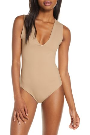 Free People Women's Intimately Fp Keep It Sleek Bodysuit