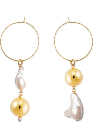 MOUNSER Pagoda Fruit Mismatched Earring Pair