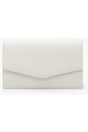 Boohoo Womens Grainy Pu Envelope Clutch Bag And Chain - - One Size