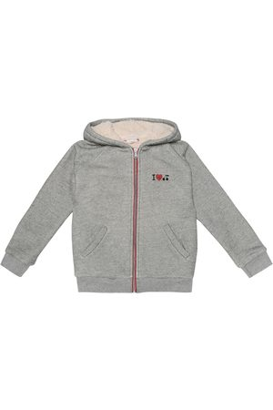 BONPOINT Embroidered cotton hoodie