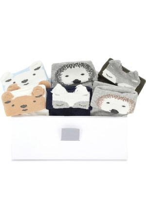 Il gufo Cotton-blend sock set