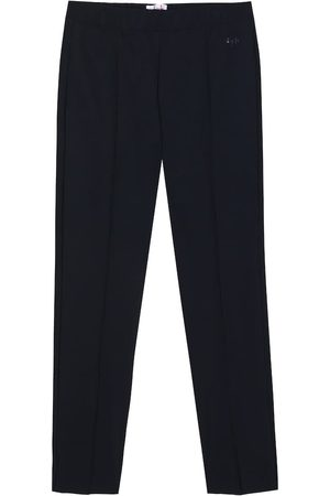 Il gufo Girls Stretch Pants - Stretch-jersey pants