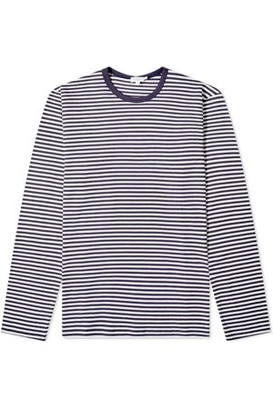 Sunspel Long Sleeve English Stripe Tee