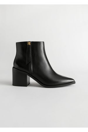 & OTHER STORIES Pointed Ankle Boots