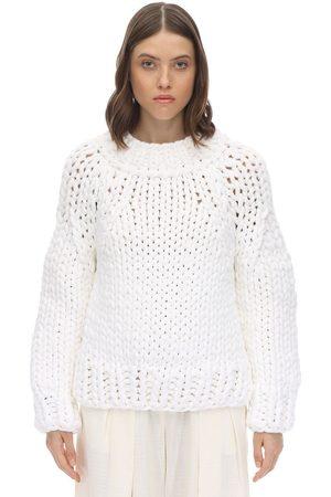 MM6 MAISON MARGIELA Women Sweaters - Cotton Blend Knit Sweater
