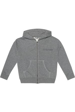 BONPOINT Cotton zip-up hoodie