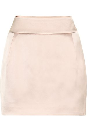 ALEXANDRE VAUTHIER Satin miniskirt