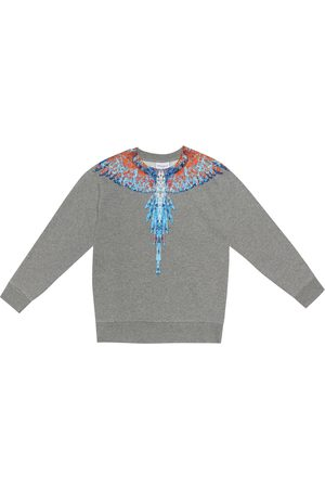 Marcelo Burlon Kids of Milan Wings cotton-blend sweater