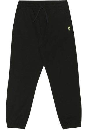 Marcelo Burlon Kids of Milan Stretch-cotton trackpants