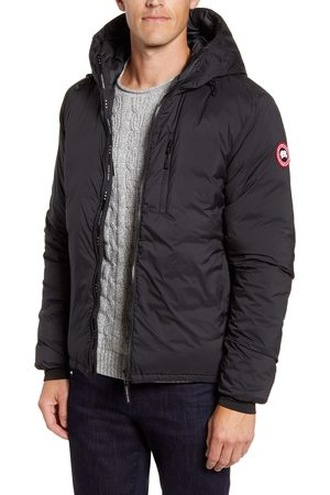 Canada Goose Men's Lodge Packable Windproof 750 Fill Power Down Hooded Jacket