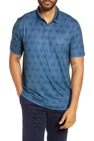 Cutter & Buck Men's Pike Classic Fit Geo Grid Performance Polo