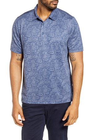 Cutter & Buck Men's Forge Classic Fit Paisley Print Performance Polo