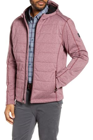 Cutter & Buck Men's Altitude Wind Resistant Hooded Jacket