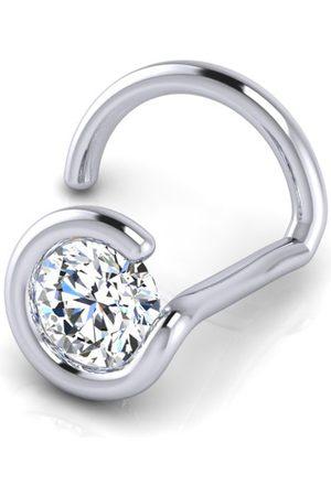 SuperJeweler 0.02 Carat 1.5mm Diamond Nose Ring in 14K